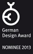 German Design Award Nominee 2013